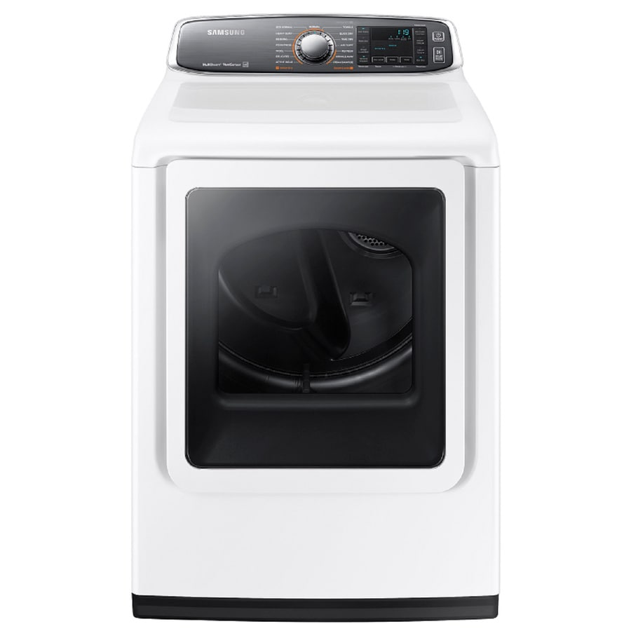 Samsung 7.4-cu ft Electric Dryer (White) ENERGY STAR