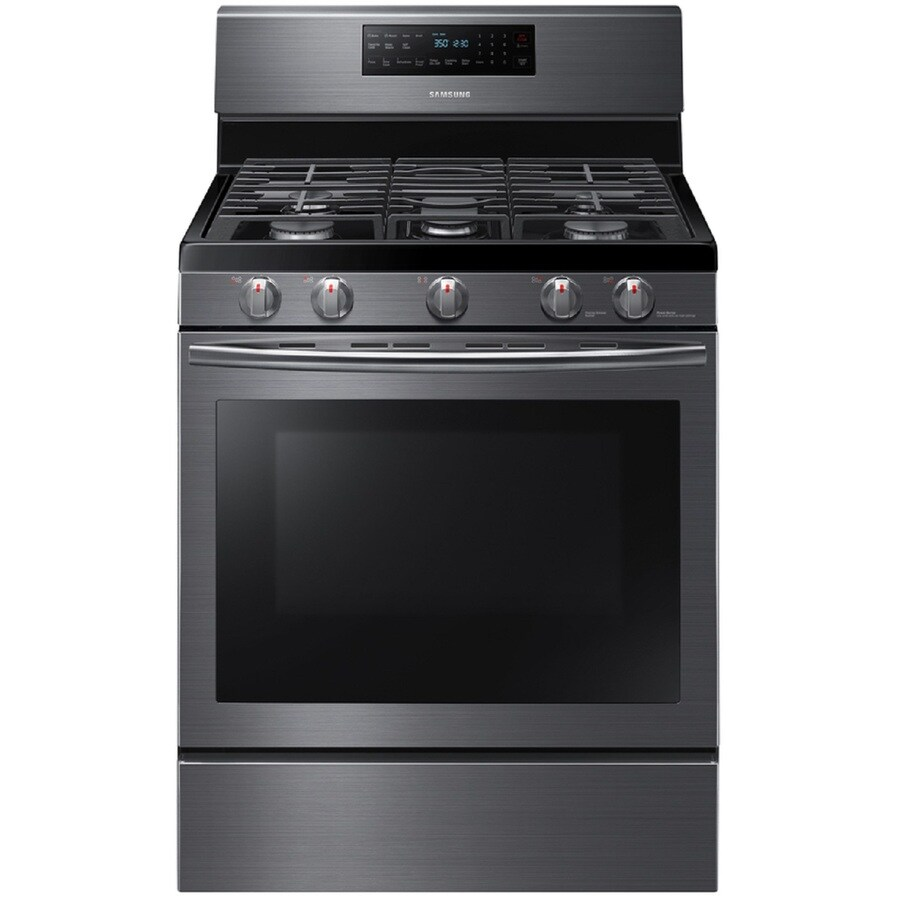 ... Gas Range (Black Stainless Steel) (Common: 30-in; Actual: 29.8125-in