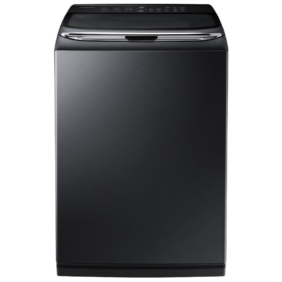Samsung Activewash 5-cu ft High-Efficiency Top-Load Washer (Black Stainless Steel) ENERGY STAR