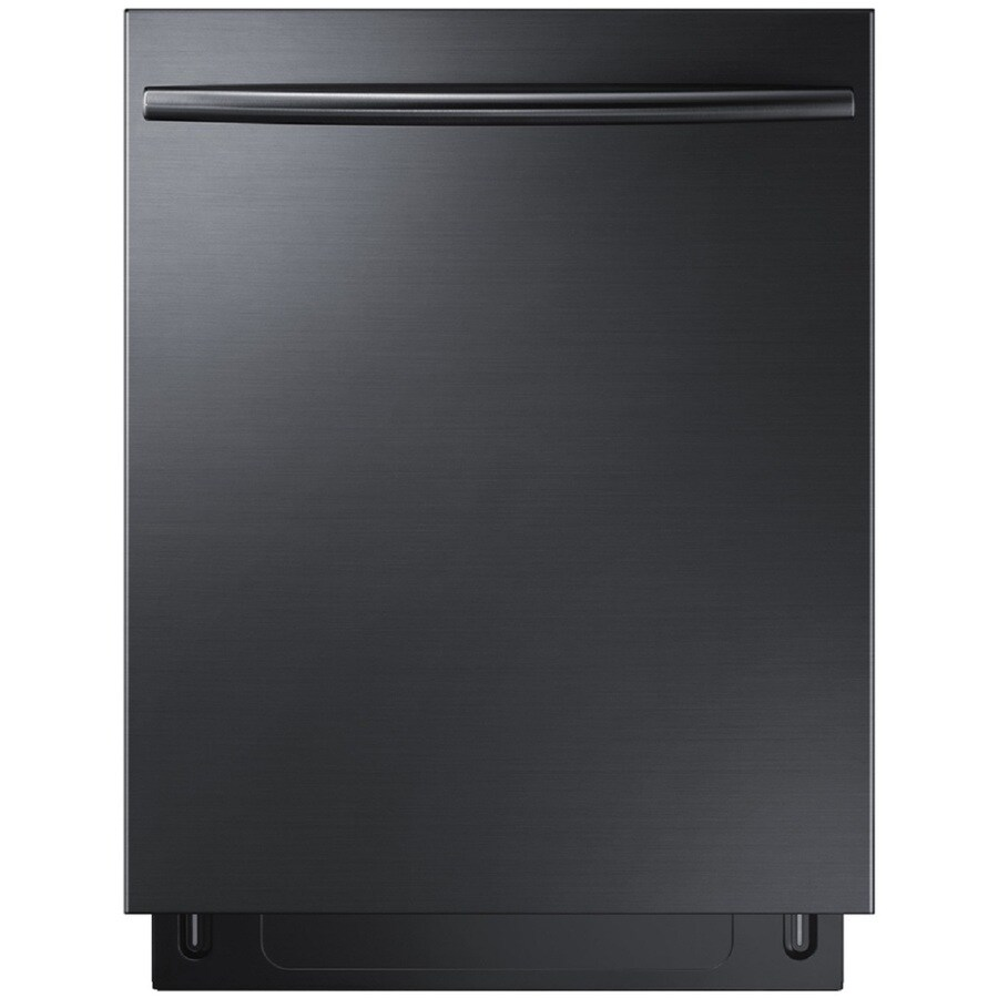 Samsung 44-Decibel Built-In Dishwasher (Black Stainless Steel) (Common: 24-in; Actual: 23.875-in) ENERGY STAR