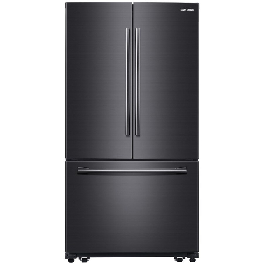 Shop samsung 25 5 cu ft french door refrigerator with for 1 door chiller