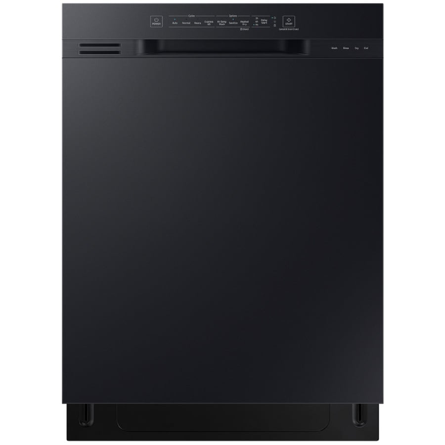 Samsung 51 Decibel Front Control 24 In Built In Dishwasher Black Energy Star In The Built In Dishwashers Department At Lowes Com