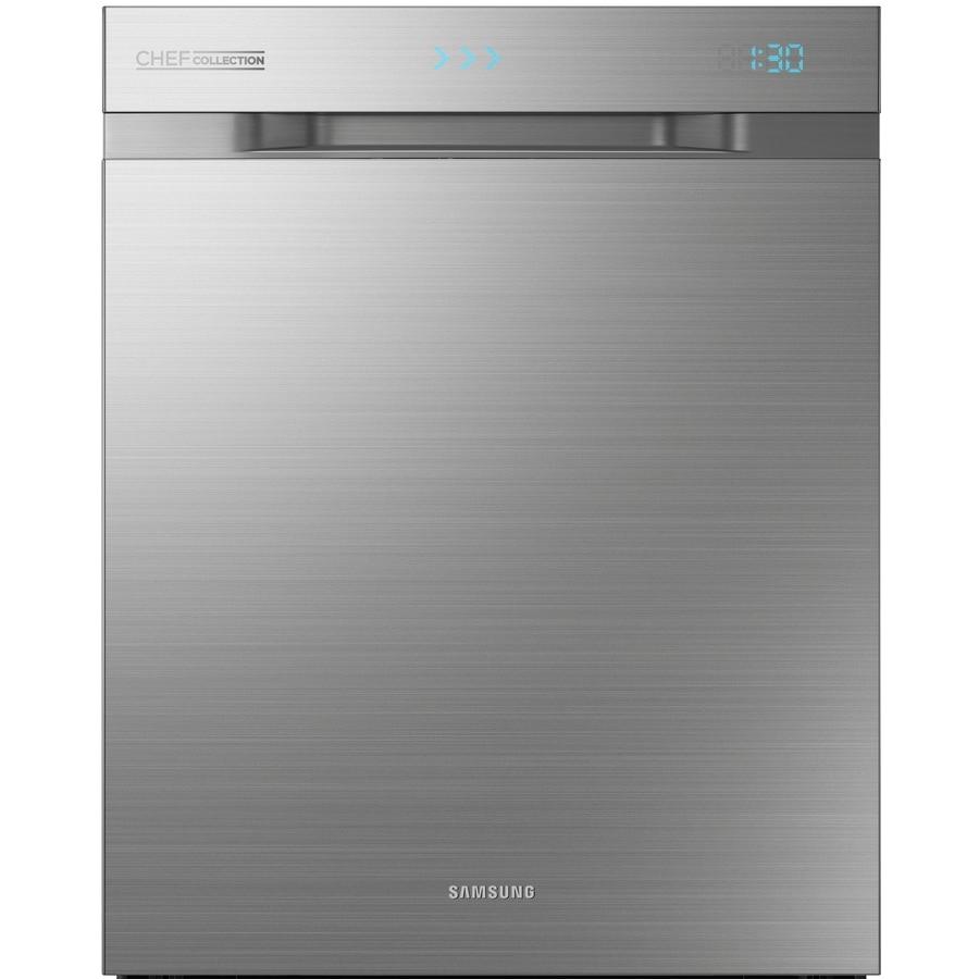 Shop Samsung 55 Decibel Built In Dishwasher Stainless: Shop Samsung Waterwall 40-Decibel Built-In Dishwasher