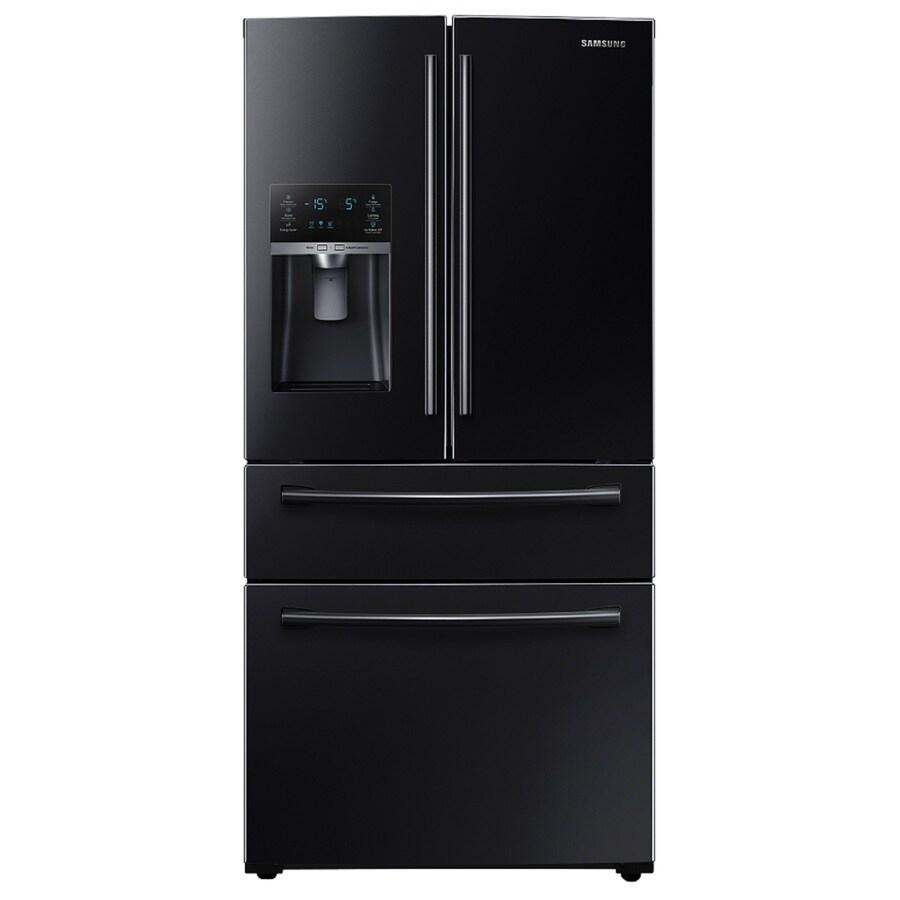 Shop Samsung 28 15 Cu Ft 4 Door French Door Refrigerator
