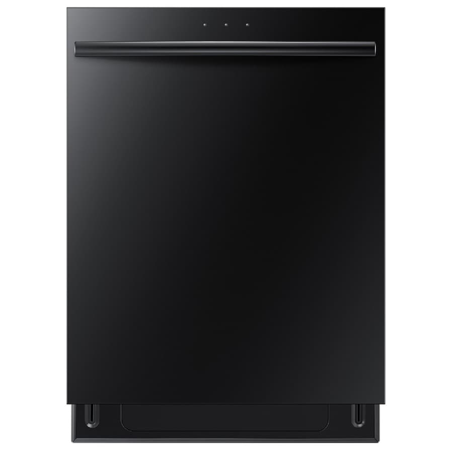 Samsung 48-Decibel Built-in Dishwasher with Hard Food Disposer (Black) (Common: 24-in; Actual: 23.875-in) ENERGY STAR