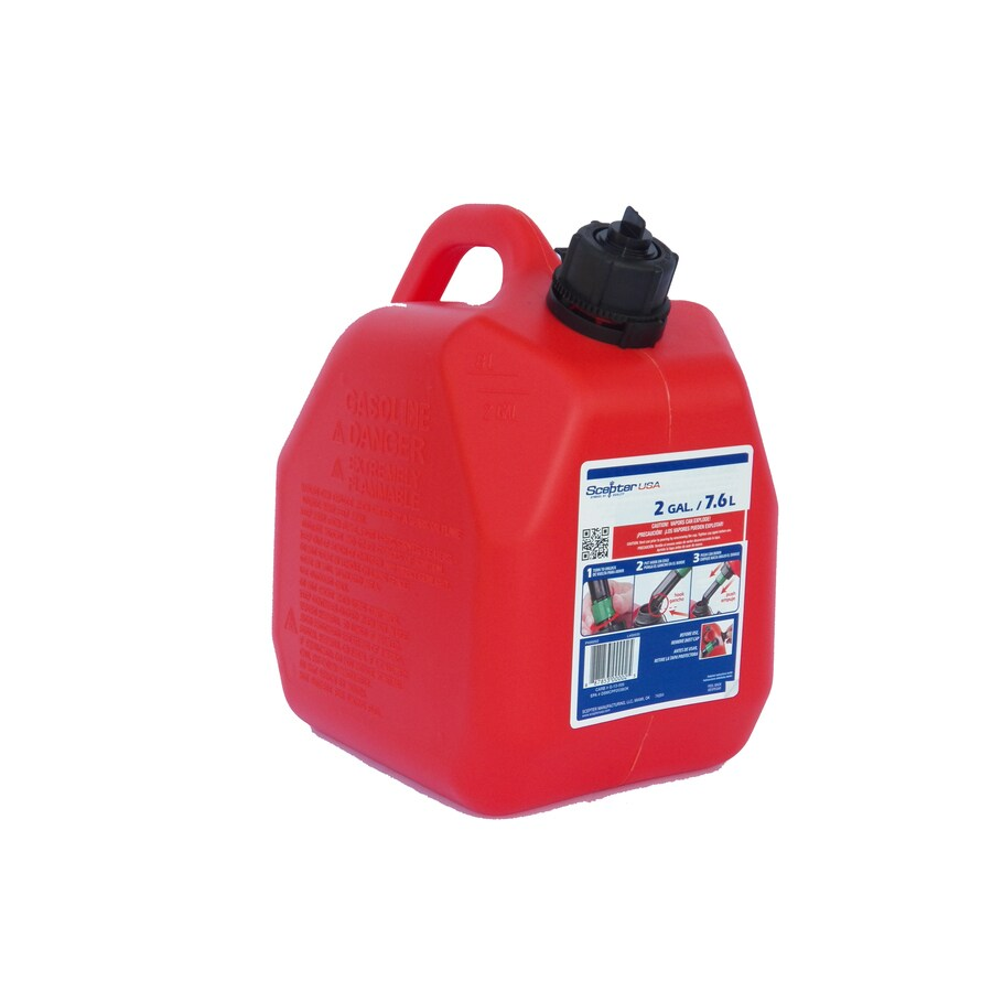 2-Gallon Plastic Gasoline Can
