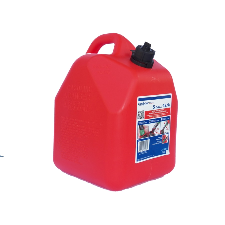Shop 5 Gallon Plastic Gasoline Can At Lowes Com