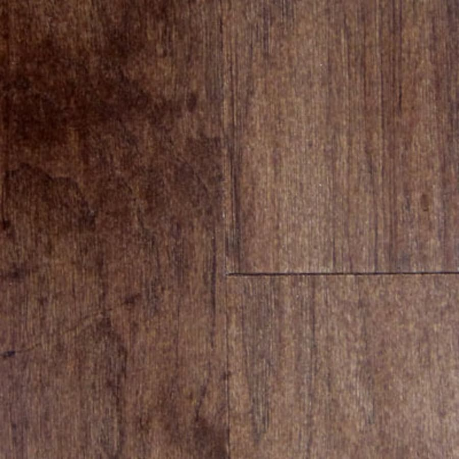 Mullican Flooring Style Selections 5-in Molasses Hickory Hardwood Flooring (24.5-sq ft)