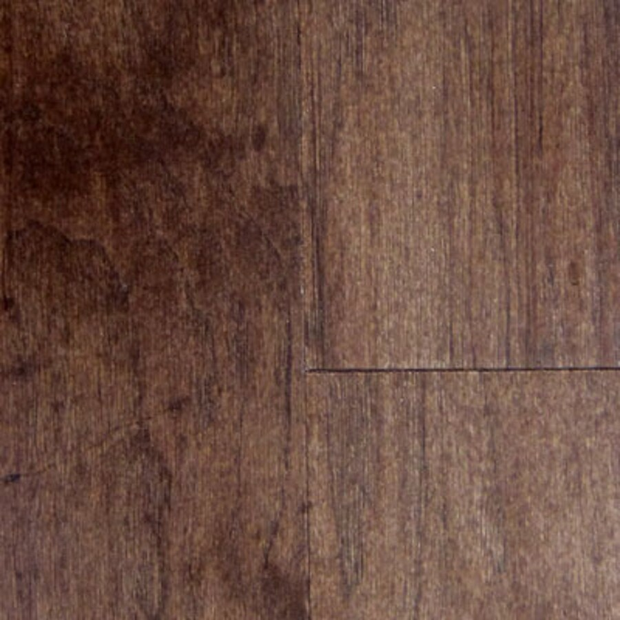 Mullican Flooring Smooth Hickory Wood Planks Sample (Molasses Hickory)