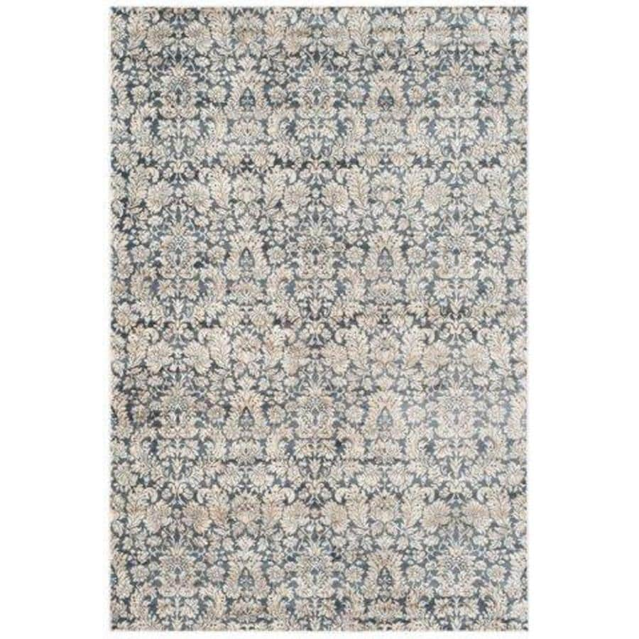 Safavieh Vintage Navy and Creme Rectangular Indoor Woven Area Rug (Common: 8 x 11; Actual: 96-in W x 132-in L x 0.58-ft Dia)