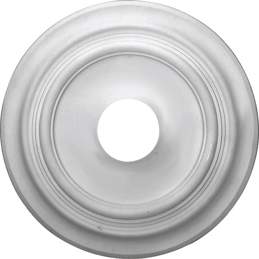 Ekena Millwork Traditional 19.72-in x 19.72-in Polyurethane Ceiling Medallion