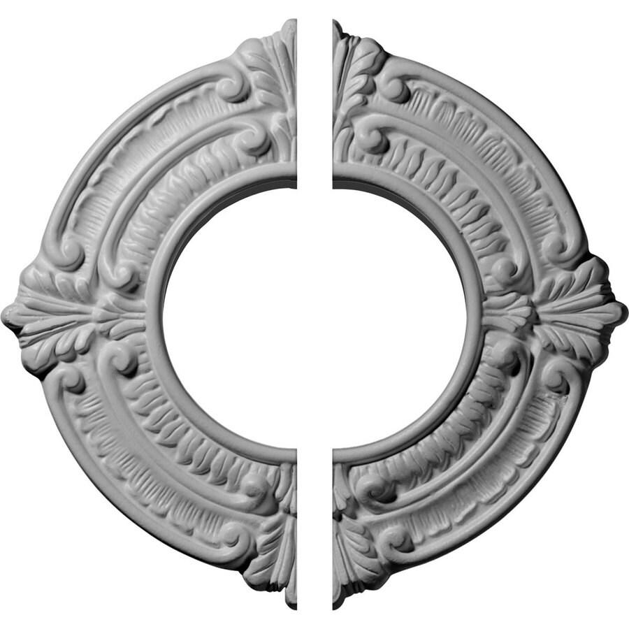 Ekena Millwork Benson 9-in x 9-in Urethane Ceiling Medallion
