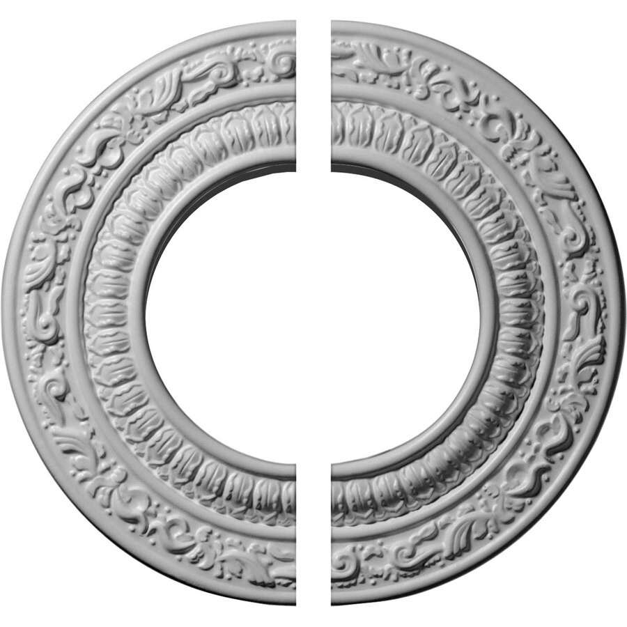 Ekena Millwork Andrea 10-in x 10-in Urethane Ceiling Medallion