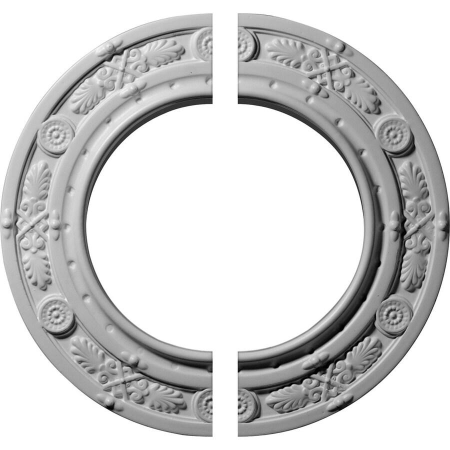 Ekena Millwork Daniela 10-in x 10-in Urethane Ceiling Medallion