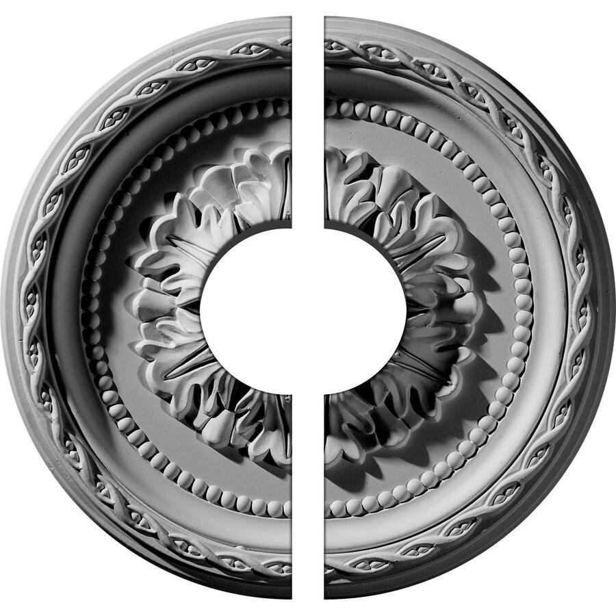 Ekena Millwork Palmetto 11.5-in x 11.5-in Urethane Ceiling Medallion