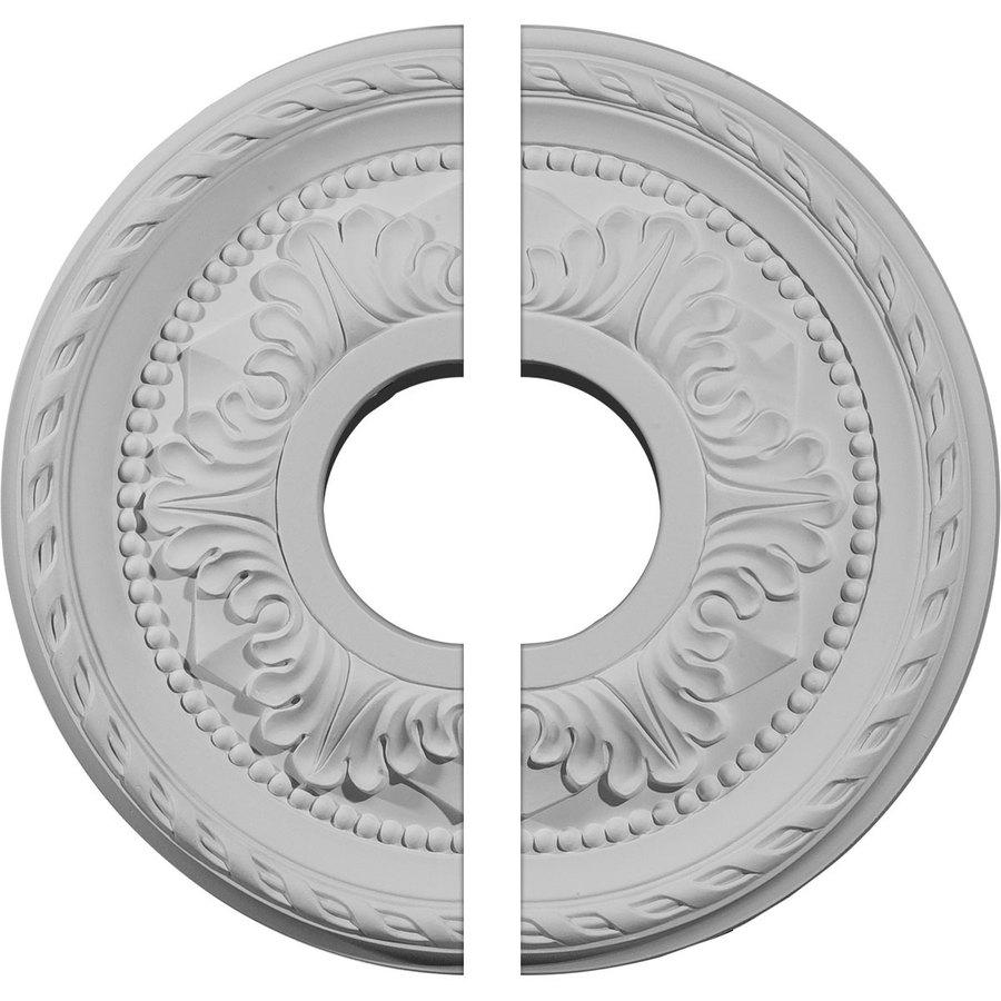 Ekena Millwork Palmetto 12.125-in x 12.125-in Urethane Ceiling Medallion