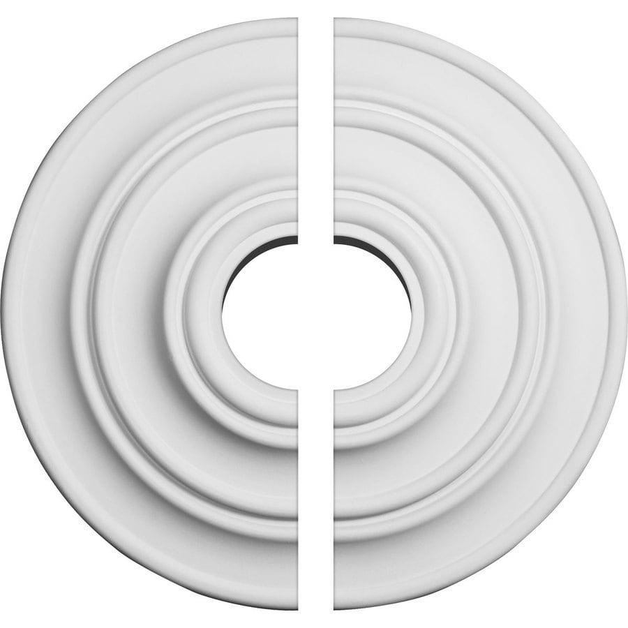 Ekena Millwork Classic 13.25-in x 13.25-in Urethane Ceiling Medallion