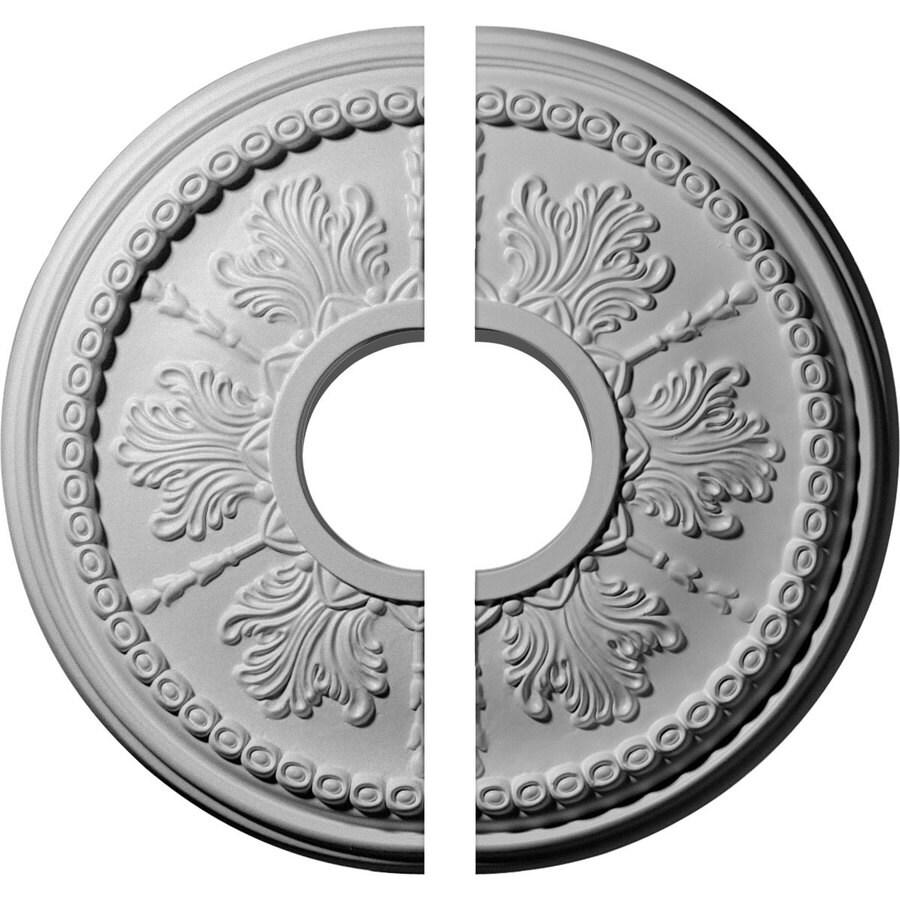 Ekena Millwork Tirana 13.875-in x 13.875-in Urethane Ceiling Medallion