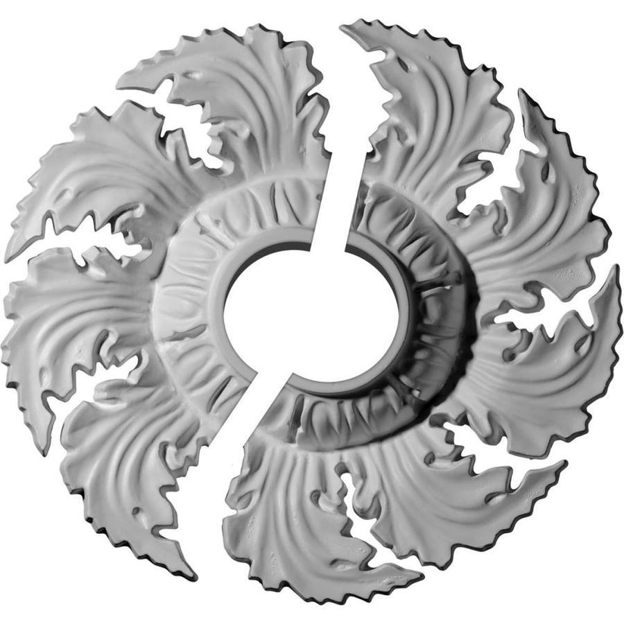 Ekena Millwork Needham 14.625-in x 14.625-in Urethane Ceiling Medallion