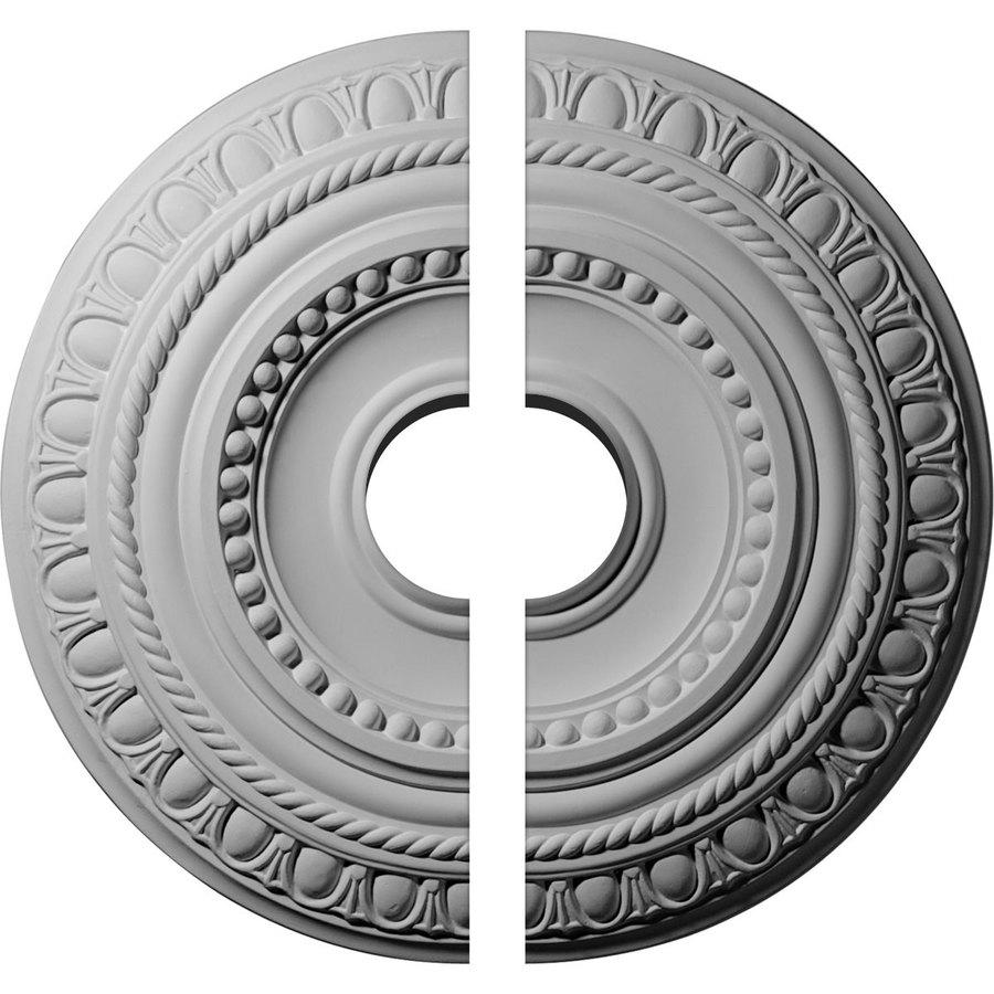 Ekena Millwork Artis 15.75-in x 15.75-in Urethane Ceiling Medallion