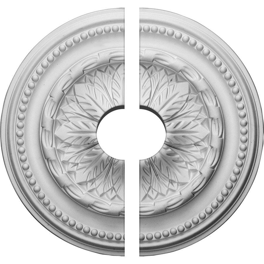 Ekena Millwork Chesterfield 15.75-in x 15.75-in Urethane Ceiling Medallion
