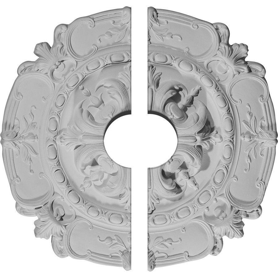 Ekena Millwork Southampton 16.5-in x 16.5-in Urethane Ceiling Medallion