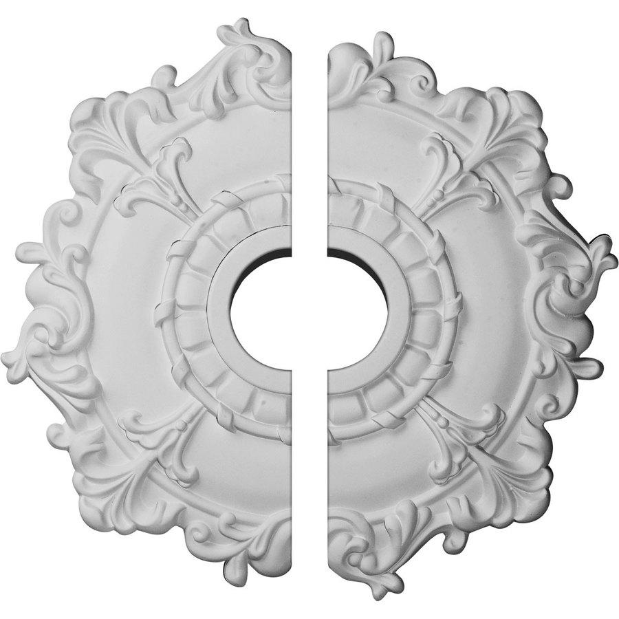 Ekena Millwork Riley 18-in x 18-in Urethane Ceiling Medallion