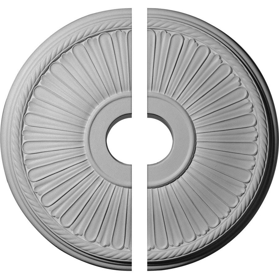 Ekena Millwork Berkshire 20.125-in x 20.125-in Urethane Ceiling Medallion