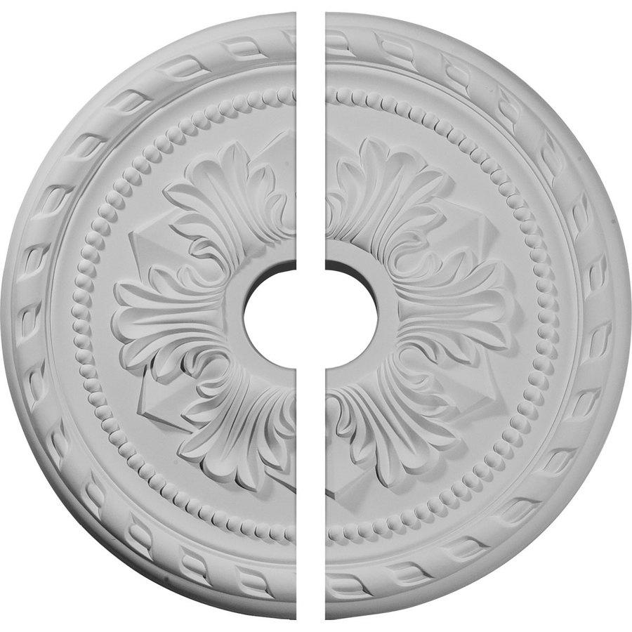 Ekena Millwork Palmetto 20.875-in x 20.875-in Urethane Ceiling Medallion