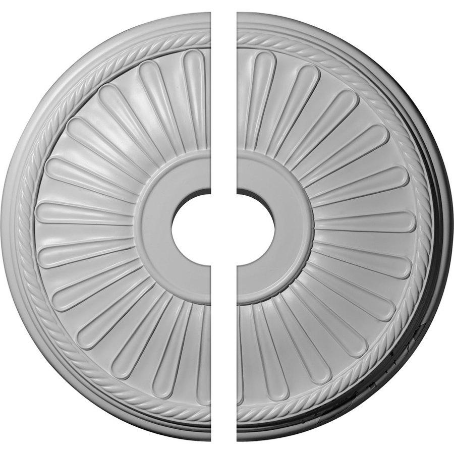 Ekena Millwork Leandros 19.875-in x 19.875-in Urethane Ceiling Medallion
