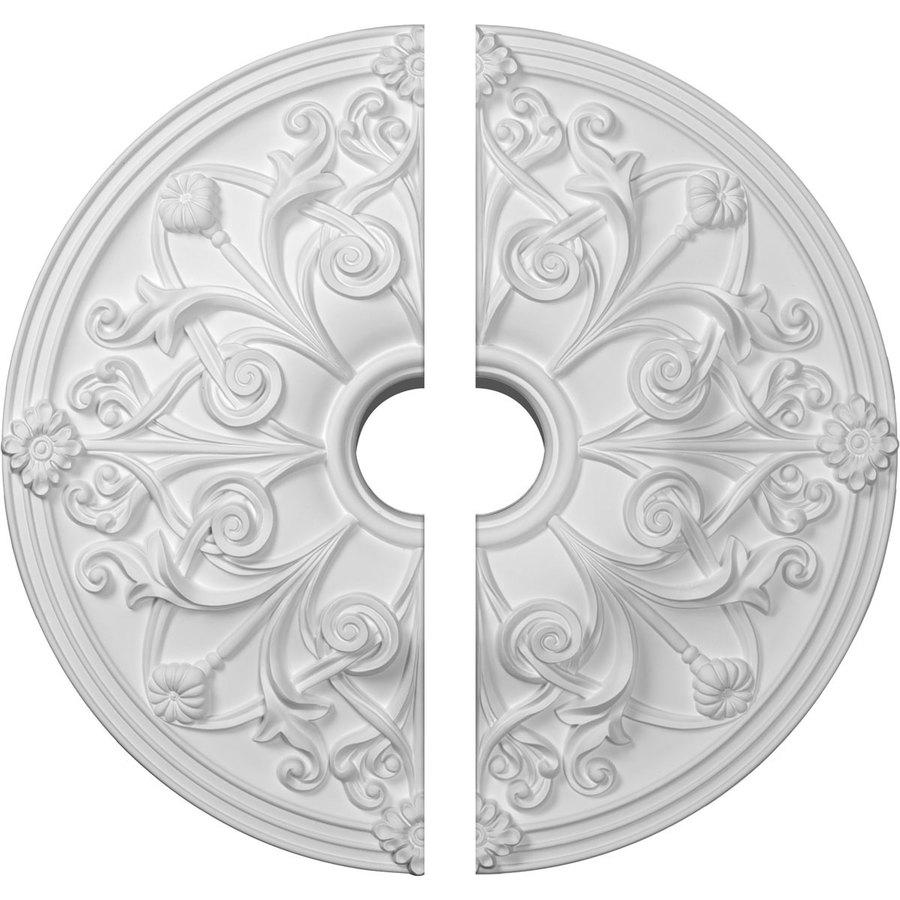 Ekena Millwork Jamie 23.625-in x 23.625-in Urethane Ceiling Medallion