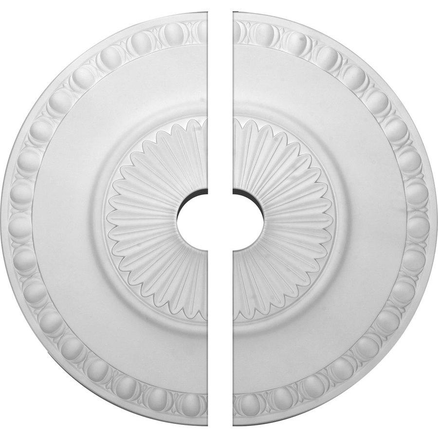 Ekena Millwork Lyon 23.5-in x 23.5-in Urethane Ceiling Medallion