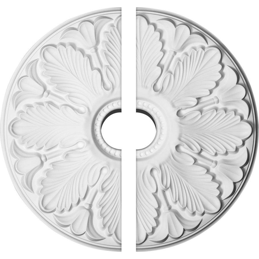 Ekena Millwork Milan 24.5-in x 24.5-in Urethane Ceiling Medallion