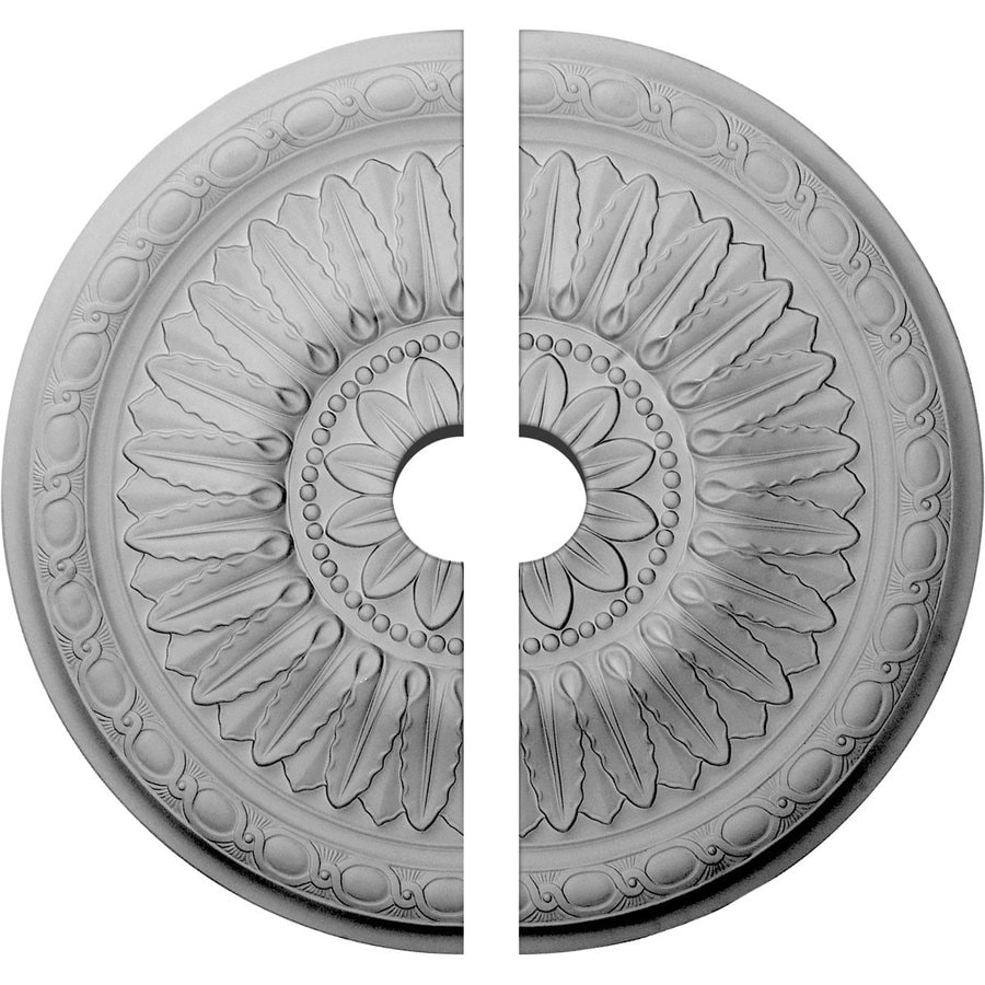 Ekena Millwork Temple 24-in x 24-in Urethane Ceiling Medallion