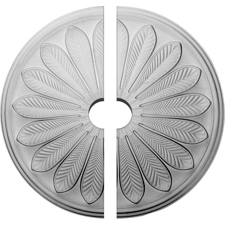 Ekena Millwork Brontes 25.5-in x 25.5-in Urethane Ceiling Medallion