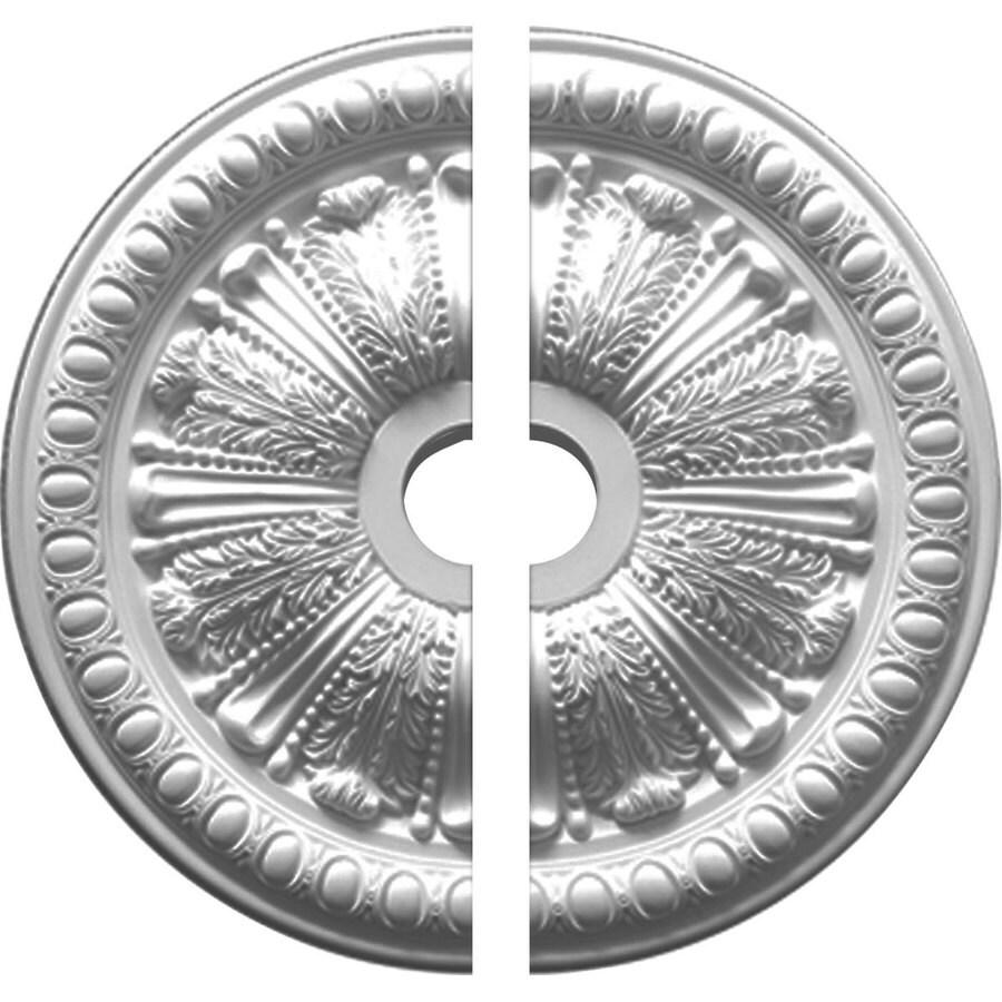 Ekena Millwork Egg and Dart 27.875-in x 27.875-in Urethane Ceiling Medallion