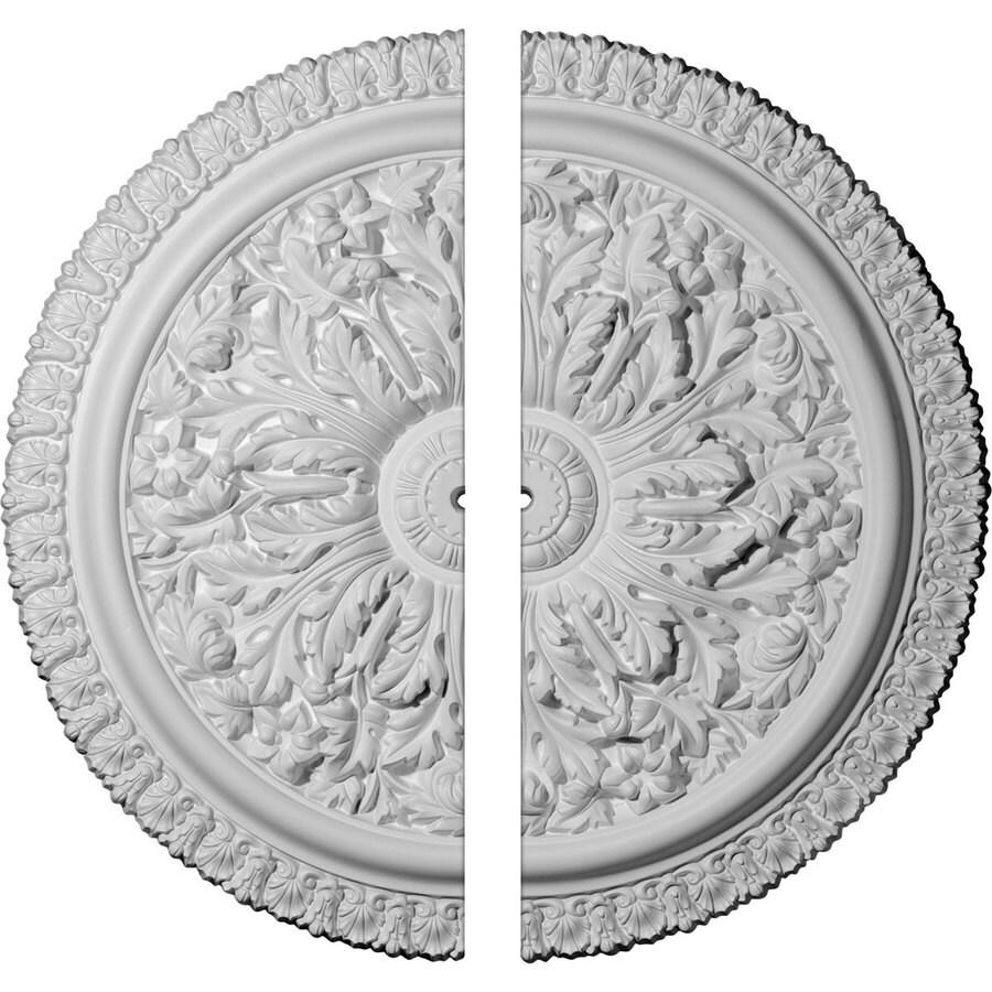 Ekena Millwork Nicole 28.75-in x 28.75-in Urethane Ceiling Medallion