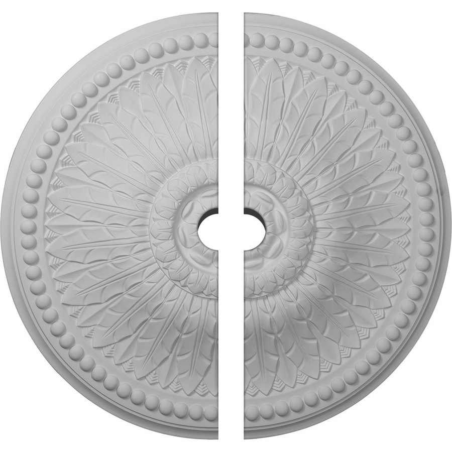 Ekena Millwork Springtime 29.375-in x 29.375-in Urethane Ceiling Medallion