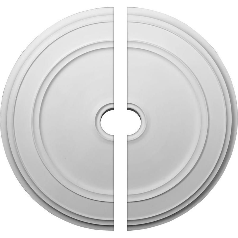 Ekena Millwork Classic 41.125-in x 41.125-in Urethane Ceiling Medallion