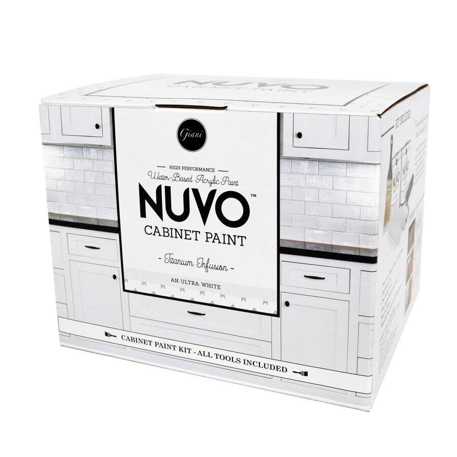 Nuvo White Satin Glaze (Actual Net Contents: 62-fl oz)