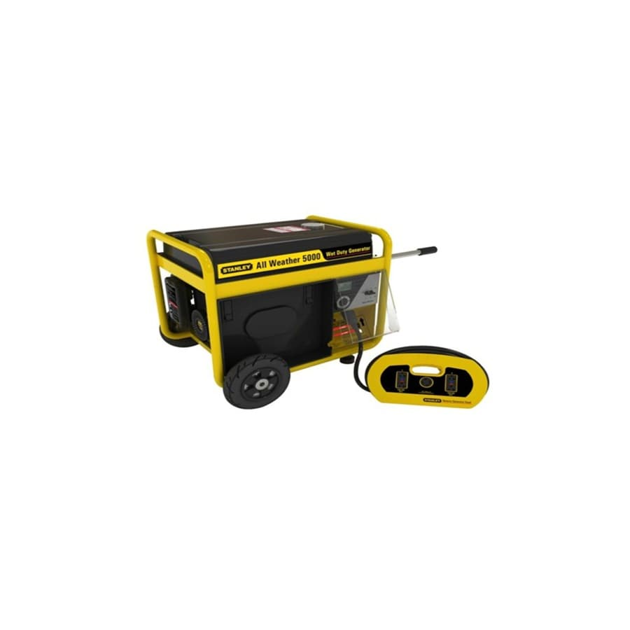 Stanley 5,000-Running Watts Portable Generator with Stanley Engine