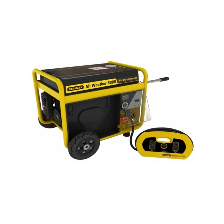 Stanley 8,000-Running Watts Portable Generator with Stanley Engine