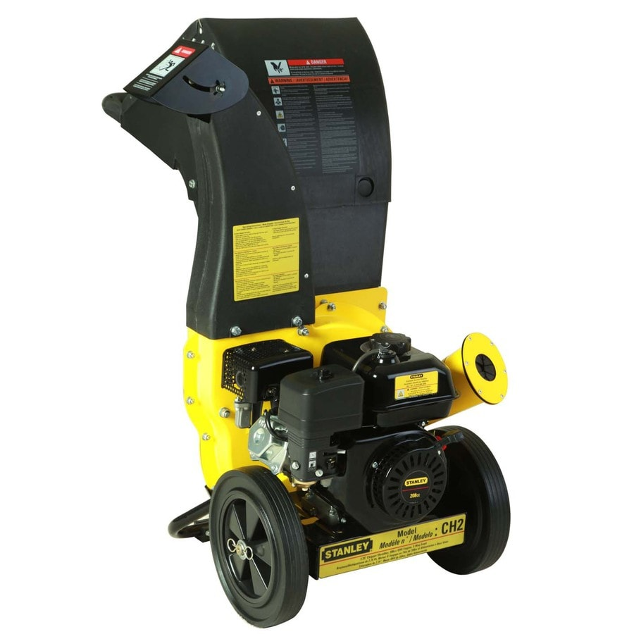 Stanley 208-cc Steel Gas Wood Chipper