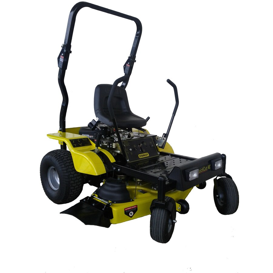 Stanley 48Zs 20 HP V-Twin Dual Hydrostatic 48-in Zero-Turn Lawn Mower with Kawasaki Engine