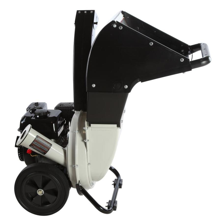 Brush Master Top Discharge 208cc Chromium Gas Wood Chipper