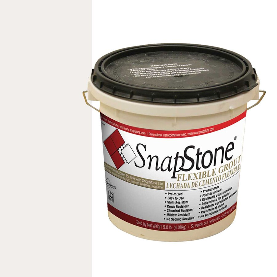 SnapStone 9 lbs Antique White Epoxy Premixed Grout