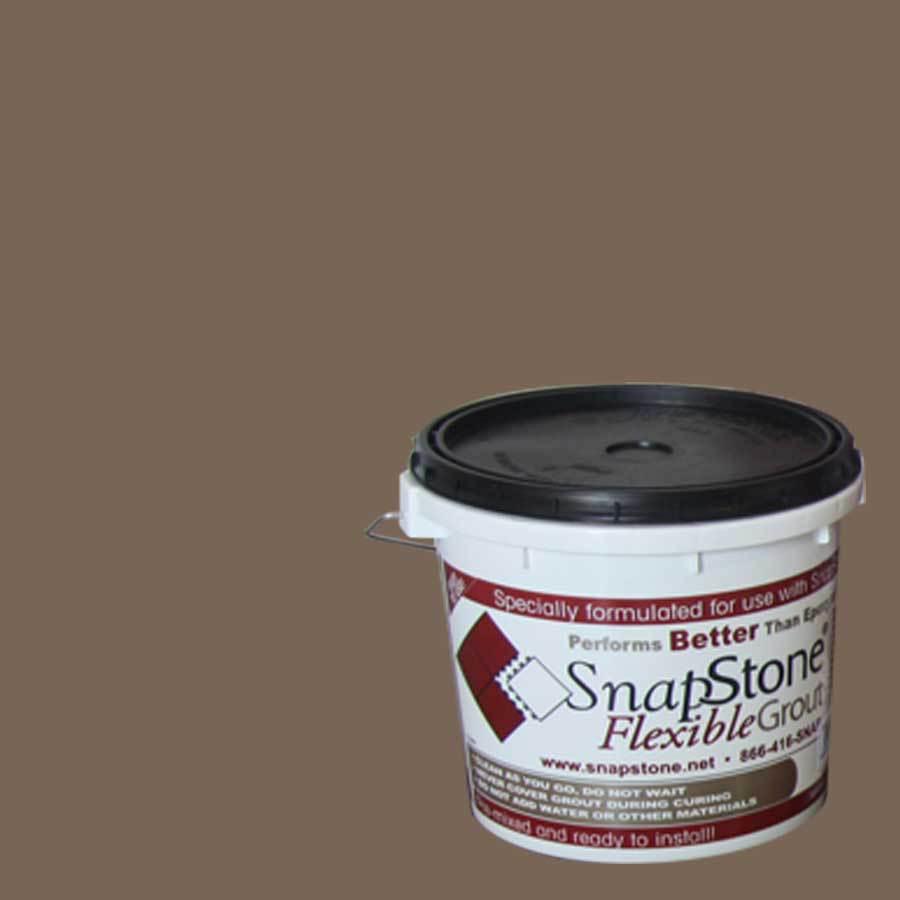 SnapStone 9-lb Bark Urethane Premixed Grout