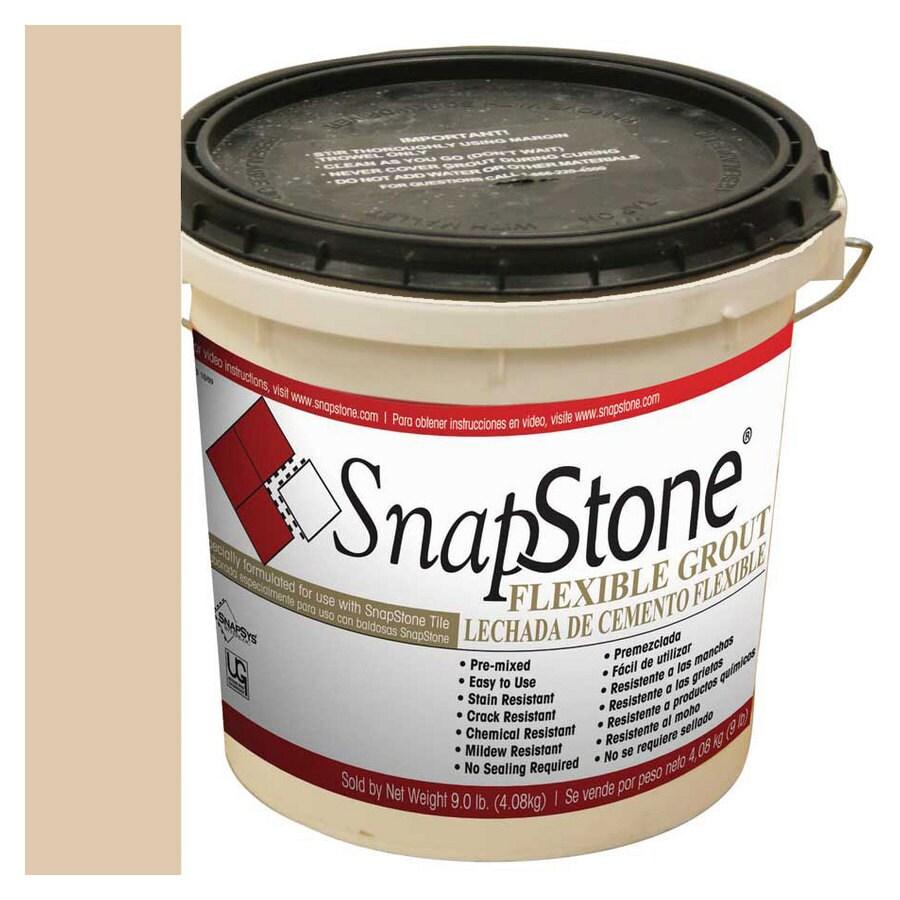 SnapStone 9-lb Almond Urethane Premixed Grout