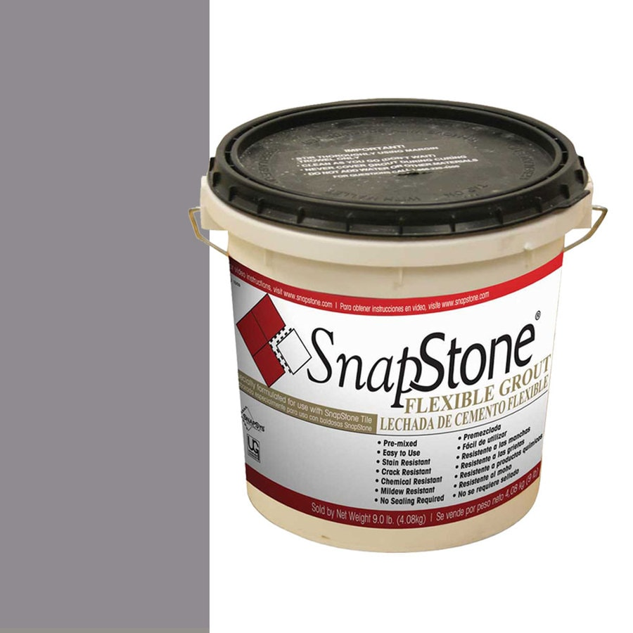 SnapStone 9-lb Raincloud Grey Urethane Premixed Grout