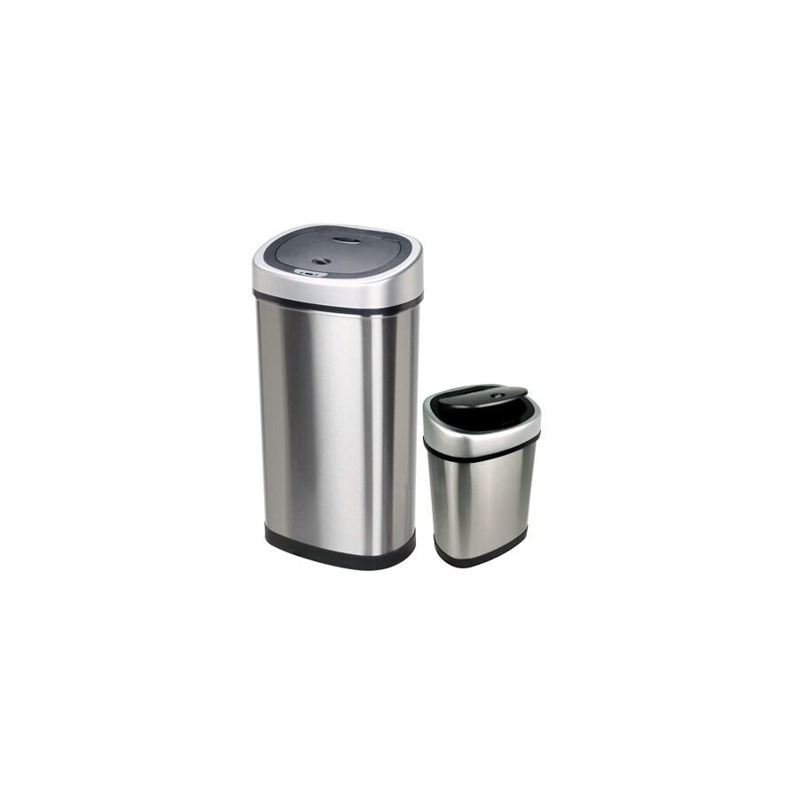NINESTARS 13.2-Gallon Trash Can